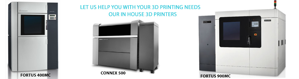 Heartland Agri-Vent - 3D Printers include 2 - Fortus 900mc, Fortus 400mc and a Connex 500